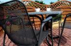 Stalowe krzesło Antonio