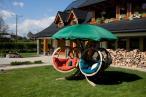 Fotel ogrodowy wiszący Quadro opinie