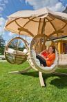 Fotel ogrodowy z daszkiem Quadro dla 4 osób ceny