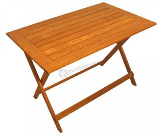 Stół prostokątny składany 110x70 - SUN sklep internetowy