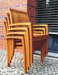 Drewniane krzesło ogrodowe VERNO opinie