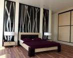 Eleganckie i oryginalne łóżko z kolekcji Qube.