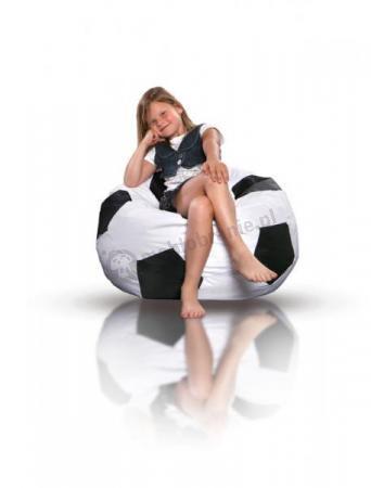 Mała pufa piłka do piłki nożnej