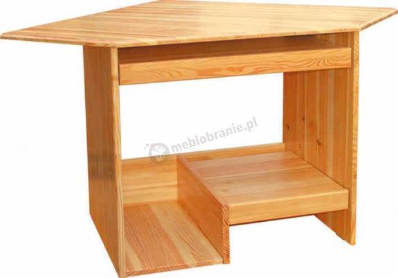 Funkcjonalne i wygodne biurko firmy Anzys z kolekcji Folk.