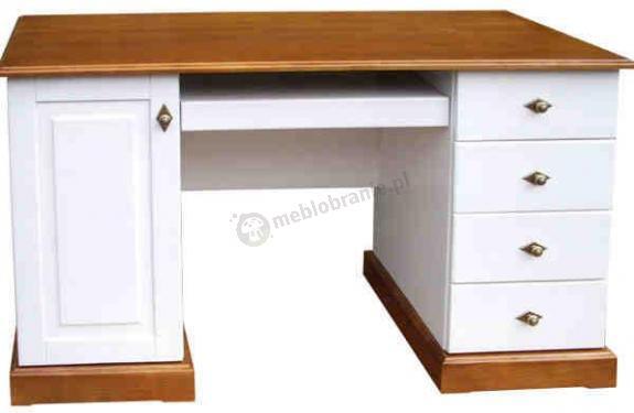 unkcjonalne i wygodne biurko firmy Anzys z kolekcji Folk.