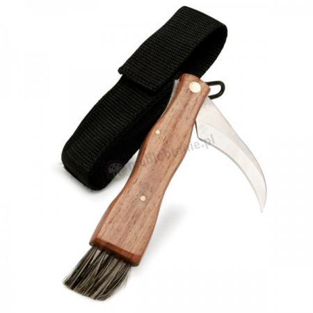 Nóż do grzybów w pokrowcu