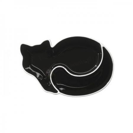 Dwudzielna miseczka, kot, Sagaform Animal