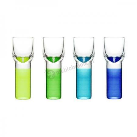 4 kieliszki do wódki, likierów Sagaform Club