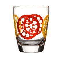szklanki czerwone 4 szt. Sagaform Juicy