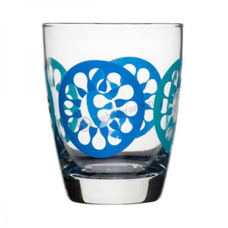 szklanki niebieskie 4 szt. Sagaform Juicy