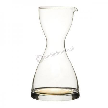 Karafka szklana z żółtym dnem Sagaform Juicy