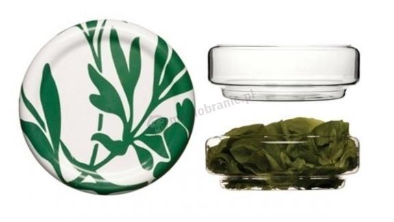 Niska szklana misa  Mangold 24 cm
