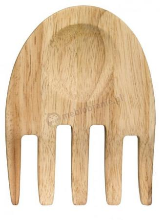 Drewniane łapki do serwowania sałaty Sagaform Oval Oak