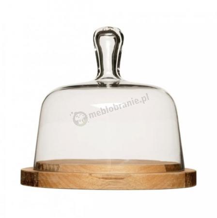 Deska do sera ze szklaną pokrywą Sagaform Paus