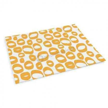 Podkładka na stół, żółta (4 szt.) Sagaform Tapas