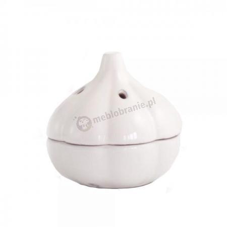 Pojemnik do przechowywania główki czosnku,ceramika MSC International Gadget