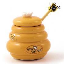 Ceramiczny słoiczek na miód