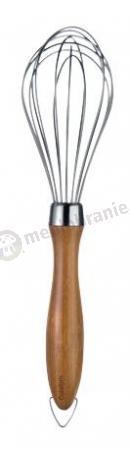 Trzepaczka okrągła z bambusową rączką