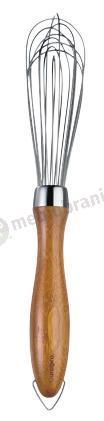 Trzepaczka podłużna z bambusową rączką