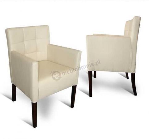 Fotel pikowany prosty 84cm