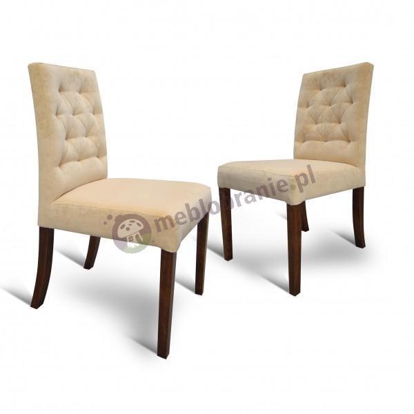 Krzesło pikowane wąskie