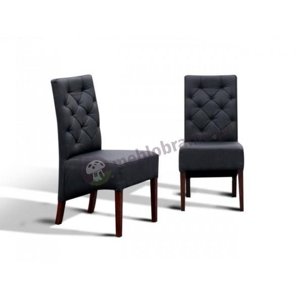 Krzesło pikowane skośne