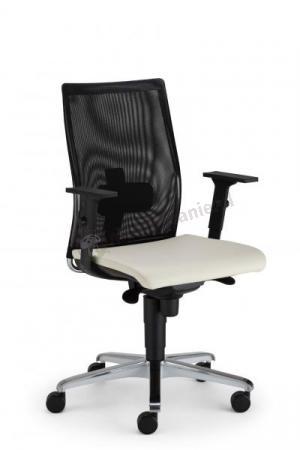 Fotel biurowy Intrata Manager z oparciem wykonanym z siatki sklep internetowy