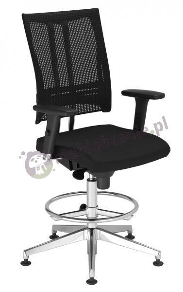 Krzesło biurowe @-Motion R18K steel33 chrome Ring Base