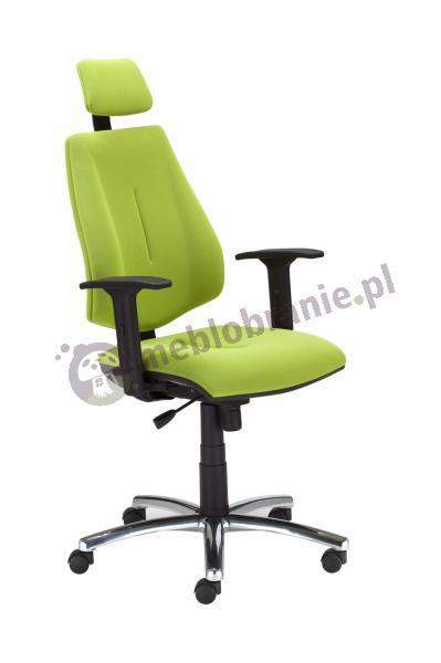 Krzesło obrotowe GEM HR R26s steel 04 chrome