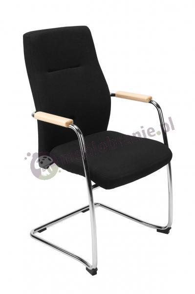 Krzesło Orlando wood steel cfp chrome
