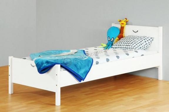 Łóżko Cross białe