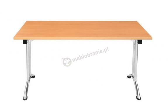 Stół Domino 120cm x 80cm prostokątny składany