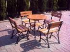 """Krzesło ogrodowe """"Królewskie"""" bez podłokietnika ceny"""