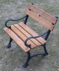 Krzesło ogrodowe żeliwne