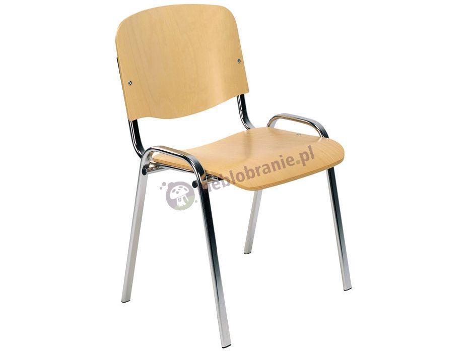 Krzesło ISO Wood - krzesło konferencyjne drewniane