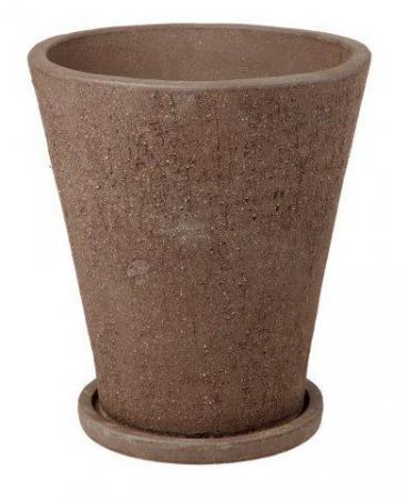 Donica Terraza 28.018.31  donica palmówka 340 x 310 mm ceramiczna Brąz sklep internetowy