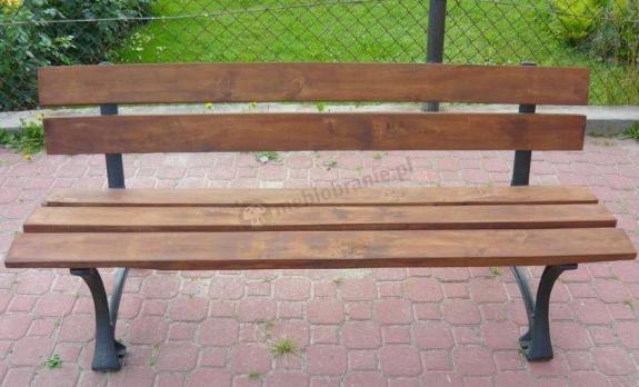 Ławka ogrodowa drewniana Oslo