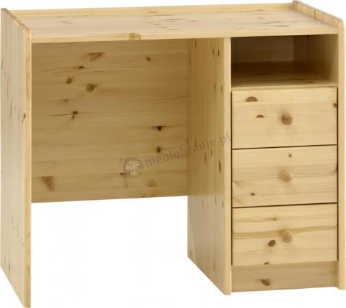 Biurko z kolekcji mebli dziecięcych Mikka sosna
