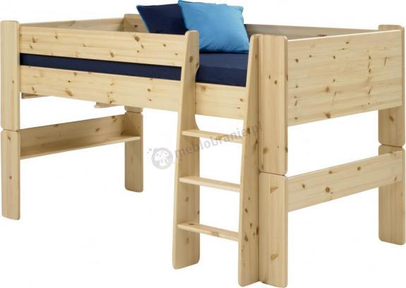 Łóżko na antresoli niskie Mikka