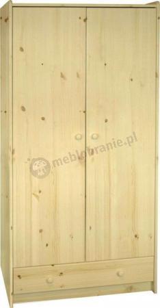 Szafa 2-drzwiowa wysoka  Mikka