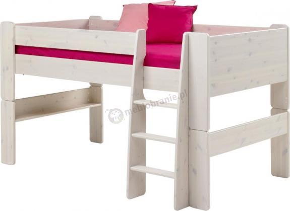 Łóżko na antresoli niskie Nelly