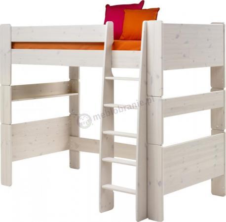 Łóżko na antresoli wysokie Nelly