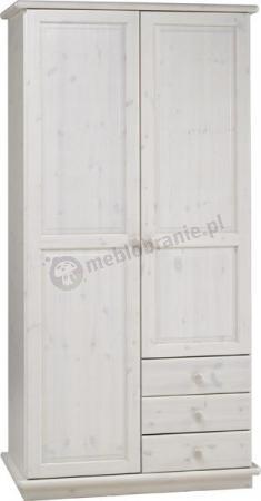 Szafa 2-drzwiowa z szufladami Nelly