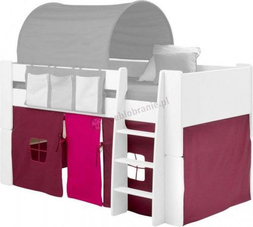 Zasłony-namiot róż Steens For Kids