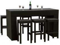 Zestaw mebli stołowych GENIALE czarny