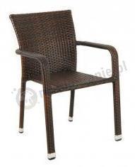 Krzesło Negros Brązowe sklep internetowy
