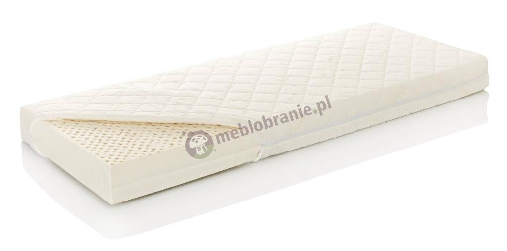Materac lateksowy Hevea Celebrities Baby 120x60 cm - Tencel