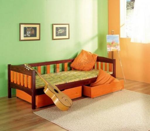 Łóżko parterowe Zuzanna