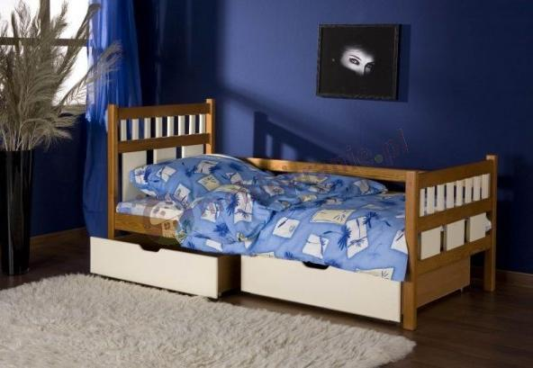 Łóżko parterowe Luiza