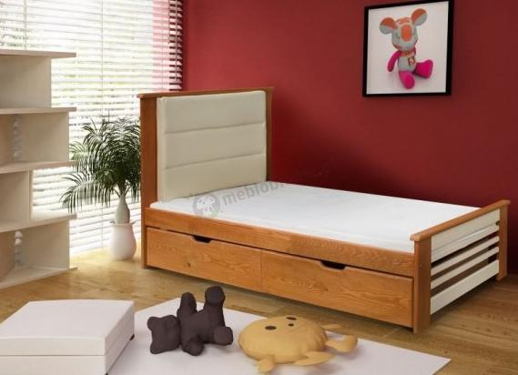 Łóżko parterowe Amelia